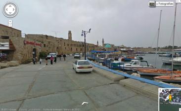 La ciudad de Acre/Akko/Akka, ahora disponible en Street View.