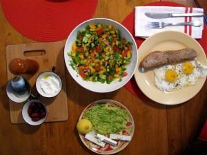 Un desayuno à la israelí