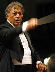 Zubin Mehta, director de la Orquesta Filarmónica de Israel