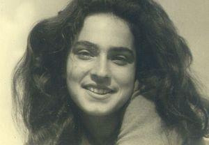Una joven Dvora Omer.