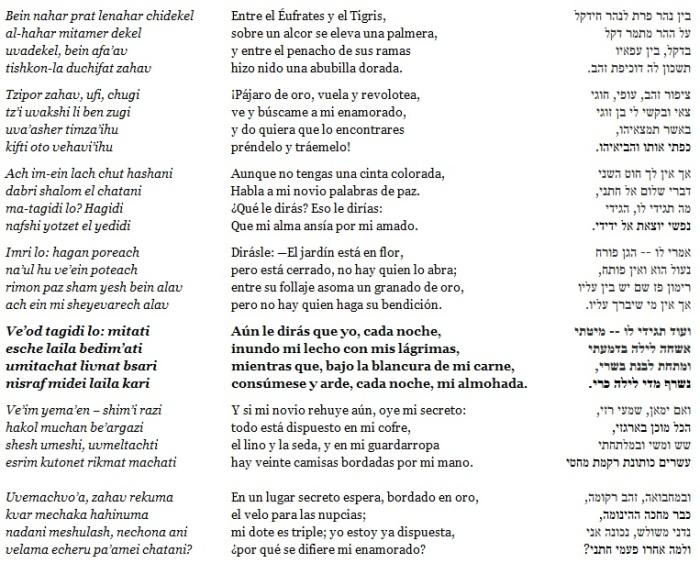 """""""Entre el Éufrates y el Tigris"""", J.N. Bialik (extracto)"""